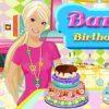Barbie születésnapi tortája