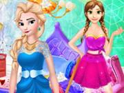 Jégvarázs hercegnők szobája