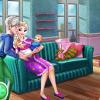 Terhes Elsa ikreket szül