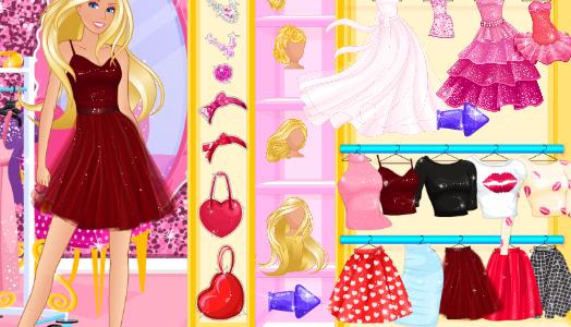 Barbie valentin napja