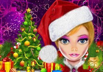 Karácsonyi party öltöztetős